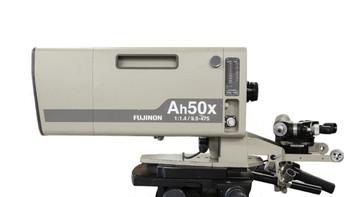 "Used Fujinon Ah50x9.5BESM 2/3"" B4 Mount Box Lens, 2X Extender, Semi-Servo Ctrls, Sled"