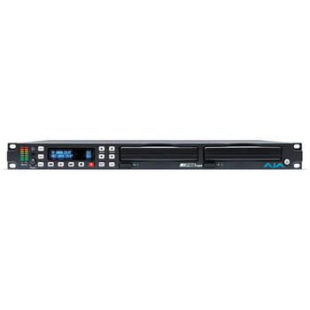 DEMO AJA Ki-Pro-Rack Rack Mount File Based Recorder/Processor in 422 ProRes and Avid DNxHD