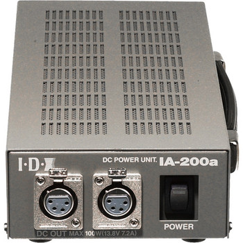 BSTOCK IDX System Technology IA-200a Dual Channel, 100W Camera Power Supply with 2 XLR Outputs