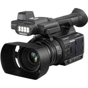 Panasonic AG-AC30 Full HD Camcorder with Touch Panel LCD Viewscreen and Built-In LED Light