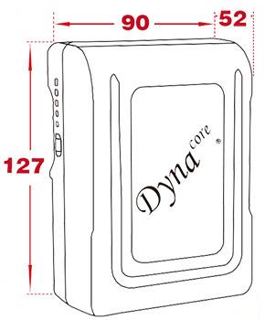 Dynacore DM-95A 95Wh Gold Mount Li-Ion Mini Battery