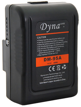 Dynacore DM-95A 95Wh Gold Mount Li-Ion Mini Battery
