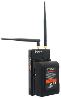 Dynacore DW-V2000A: 3G-SDI/HDMI 2,300 ft (700m) Wireless Video Transceiver Set  (Gold Mount)