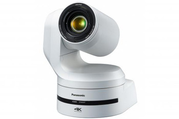 """Panasonic AW-UE150W 4K/UHD Integrated 60p PTZ Camera, 1"""" MOS, with 20x, 12G-SDI & HDMI outputs (White) Also available in Black!"""