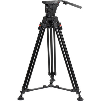 Cartoni KF12-1UM Focus 12 Fluid Head with A302 Tripod Legs & Mid-Spreader (100mm)