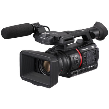 "Panasonic AG-CX350 High-End 1.0"" MOS 4K/HDR/10-bit Streaming Camcorder with 20x lens & NDI"