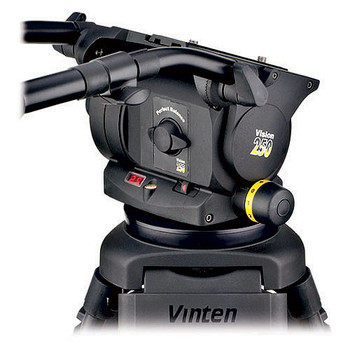 Vinten VB250-CP2M VISION 250 Carbon Fiber Tripod System with Mid-Spreader (Black)