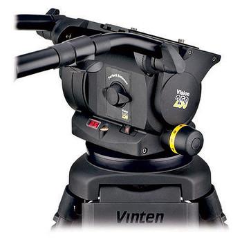 Vinten VB250-CP2M VISION 250 Carbon Fiber Tripod System with Mid-Spreader (Black)