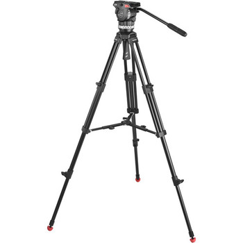 Sachtler 1001 Ace Fluid Head with 2-Stage Aluminum Tripod & Mid-Level Spreader