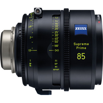 Zeiss 2205-982 Supreme Prime 85mm T1.5 (Feet, PL Mount)
