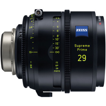 Zeiss 2205-237 Supreme Prime 29mm T1.5 (Feet, PL Mount)