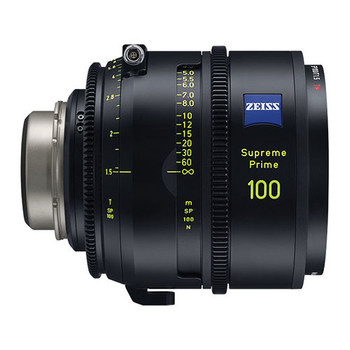 Zeiss 2250-446 Supreme Prime 100mm T1.5 (Feet, PL Mount)