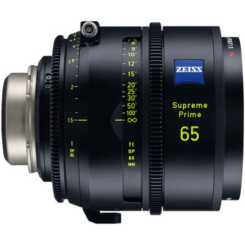 Zeiss 2233-299 Supreme Prime 65mm T1.5 (Feet, PL Mount)