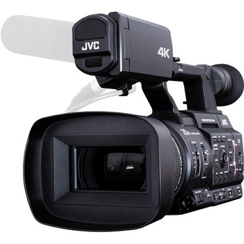 """JVC GY-HC500U Handheld Connected Cam 1"""" 4K Professional Camcorder with Integrated Lens"""