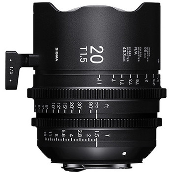 Sigma WZV968 T1.5 FF High-Speed 5-Lens Kit with Case (PL Mount) - DISCONTINUED