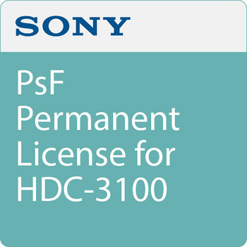 Sony HZC-PSF50 Sony PsF Permanent License for HDC-3100