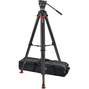 Sachtler 1017MS ACE XL Tripod System with FT 75 Legs & Mid-Level Spreader (75mm Bowl)
