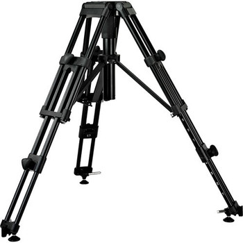 Vinten 3902-3 HDT-2 Two Stage Heavy Duty Tripod with 4-bolt Mitchell Mount