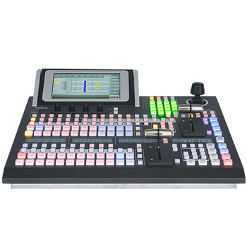 FOR-A HVS-1200-TYPE A Hanabi 4K/12G/3G/HD Video Switcher w/ HVS-492OU 18-Button Control Panel Bundle