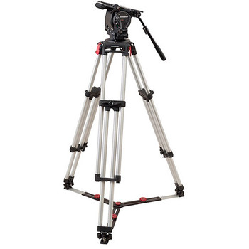 OConnor C2575-CINE150-F Ultimate 2575D Head & Cine HD 150mm Bowl Tripod System with Floor Spreader