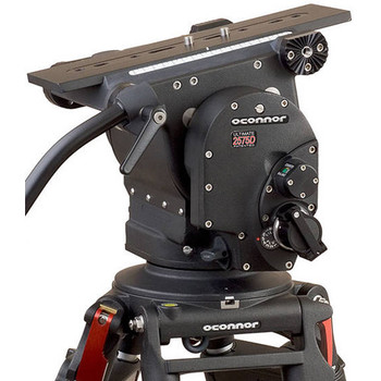 O'Connor C2575-CINE150-F Ultimate 2575D Head & Cine HD 150mm Bowl Tripod System with Floor Spreader
