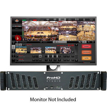 JVC KM-IP4000S ProHD Studio 4000S Sports Production/Streaming Studio (Monitor Not Included)