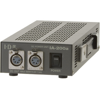 IDX System Technology IA-200A Dual Channel, 100W Power Supply with (2) 4-pin XLR Outputs (no cables)