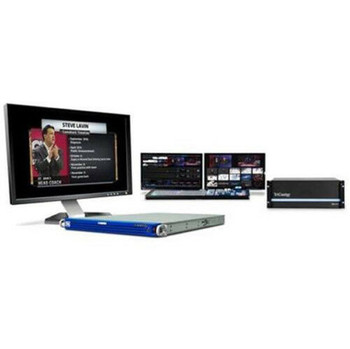 BSTOCK Chyron IP 2-Channel HD/SD 2D & 3D Broadcast Motion Graphics for Tricaster