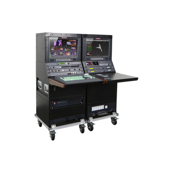 Datavideo Mobile Studio With SE-2850-8,HDR-70,VSM-100,2-TLM-170LR,ITC 100 With 4 Belt Packs,AM-100,AD-100M