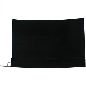 "Westcott 1954 Scrim Fabric Only - 24x36"" - Black Block"