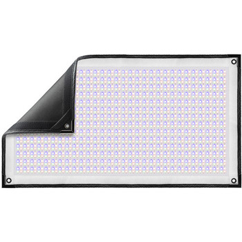 Westcott 7709 Flex Cine DMX RGBW Mat 1-Light Set (1' x 2', US/CA Plug)