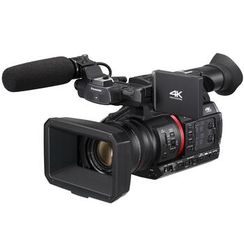 "Panasonic AG-CX350 High-End 1.0"" MOS 4K/HDR/10-bit Streaming Camcorder with 20x lens and NDI (Optional)"