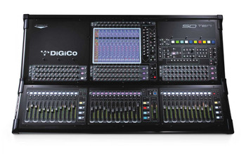 DiGiCo SD10T 96-channel Theatre Digital Mixing Console with Stealth Digital Processing