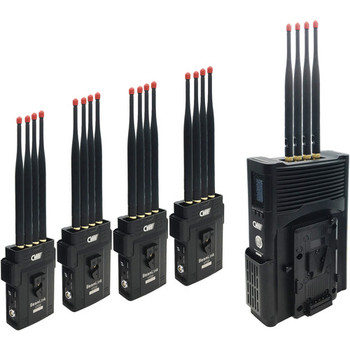 Crystal Video BEAMLINK-QUAD 4-Channel Full HD Wireless Video Transmission System