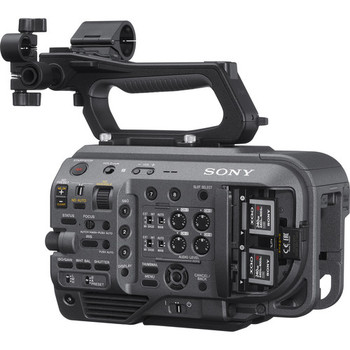 Sony PXW-FX9V: XDCAM 6K Full-Frame Camera System with Fast Hybrid AF, Dual Base ISO (Body Only)