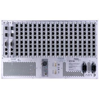 Riedel Artist 128  Modular Matrix Mainframe, 128 frames