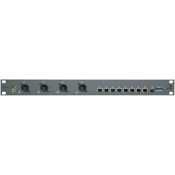 Riedel Performer C44plus Digital Partyline to Matrix System Interface with internal 24x24 Matrix