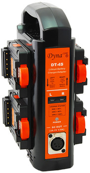 Dynacore DT-4S 2-sided Portable Quad Simultaneous Charger and Power Supply