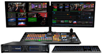 BSTOCK NewTek Tricaster 460: 4-input Live Multi-Format HD Switcher, Multiviewer, CG, Streaming, Control Surface
