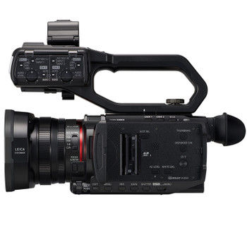 Panasonic AG-CX10 4K Streaming Camcorder with 24x lens and NDI/HX