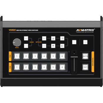 AVMatrix VS0601 Mini 6-Channel Multi-Format AV Switcher