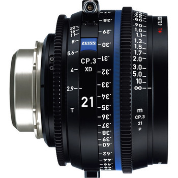 Zeiss 2183-055 CP.3 XD 21mm T2.9 Compact Prime Lens (PL Mount, Feet)