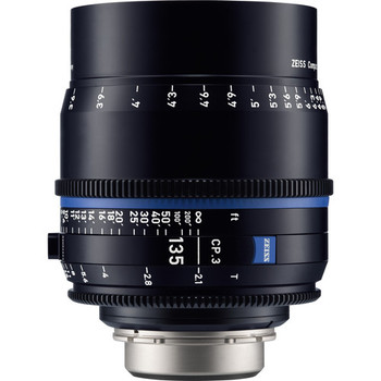 Zeiss 2184-953 CP.3 135mm T2.1 Compact Prime Lens (Canon EF Mount, Feet)