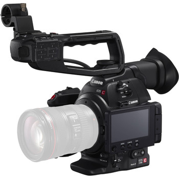 Canon EOS C100 Mark II Cinema EOS Camera with Dual Pixel CMOS AF (Body Only) (0202C002)