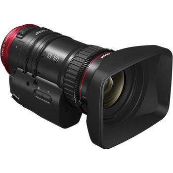Canon CN-E 18-80mm T4.4 COMPACT-SERVO Cinema Zoom Lens (EF Mount) (1714C002)