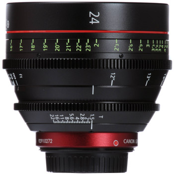 Canon CN-E 24mm T1.5 L F Cinema Prime Lens (EF Mount) (6569B001)