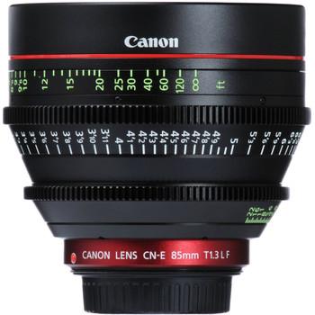Canon CN-E 85mm T1.3 L F Cine Lens (6571B001)
