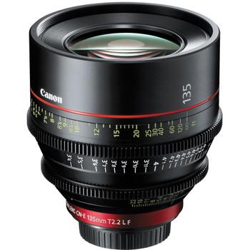 Canon CN-E 135mm T2.2 L F Cinema Prime Lens (EF Mount) (8326B001)