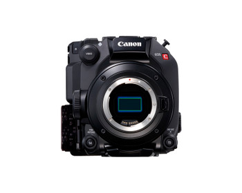 Canon EOS C300 Mark III Digital Cinema 4K Camera EF Mount  w/Super 35mm Dual Gain Output Sensor, HDR Support