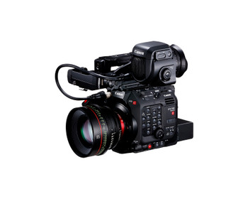 Canon EOS C300 Mark III Digital Cinema 4K Camera EF Mount  w/Super 35mm Dual Gain Output Sensor, HDR Support